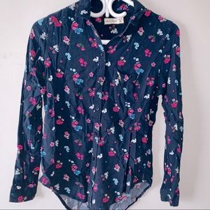   Abercrombie Kids  button down blouse
